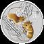 1/2 oz Australian Silver Lunar Mouse Coloured