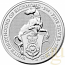 The Queen's Beasts 2021 White Greyhound of Richmond 2oz Silver Bullion Coin