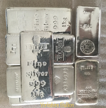 1 Kilo Silver Bars .999 Fine Silver Our Choice